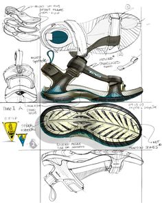 Rendering Drawing, Sneakers Sketch, Shoe Sketches, Bag Illustration, Shoe Pattern, Shoe Art, Sketch Design, Dream Shoes, Leather Accessories