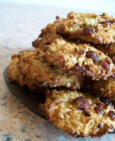 Zdrowe Odżywianie: Ciasteczka owsiane