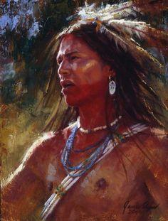 Mighty Warrior | Lakota | James Ayers Studios
