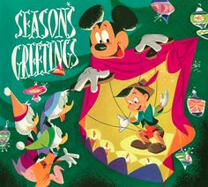 Vintage Disney Christmas