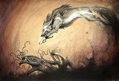LOZ Twilight Princess Wolf Link