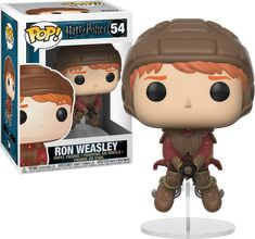 Harry Potter - Ron Weasley on Broom Funko Pop! Vinyl Figure | Popcultcha