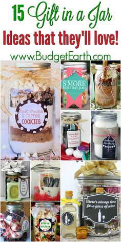 "15 Gifts in a Jar Ideas that They'll Love Looking for gift ideas for friends & family on your holiday list? Check out these 15 Gift in a Jar projects everyone is sure to love!""}, ""http_status"": window. Diy Gifts In A Jar, Diy Food Gifts, Diy Gifts For Kids, Easy Diy Gifts, Mason Jar Gifts, Diy Crafts For Gifts, Gifts For Family, Friends Family, Homemade Gifts For Friends"