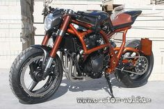 "Racing Cafè: Suzuki ""Spondon by Custom Wolf Concept Motorcycles, Custom Motorcycles, Cars And Motorcycles, Ducati Scrambler, Scrambler Motorcycle, Yamaha, Cafe Racer Parts, Street Fighter Motorcycle, Aftermarket Motorcycle Parts"