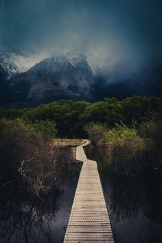 The Walking Path in Glenorchy #hiking from #treyratcliff at www.StuckInCustoms.com  - all images Creative Commons Noncommercial.