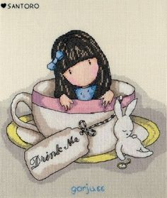 Sweet Tea - Gorjuss Cross Stitch