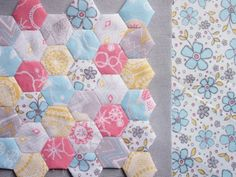 Love a Hexi quilt!
