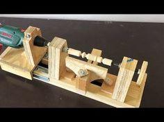 4 in 1 Drill Press Build Pt3 : Thickness Sander / 4 in 1 Sütun Matkap 3. Bölüm - YouTube