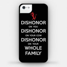 Dishonor Case... I need an iPhone so I can have this case...