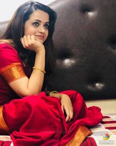 Bollywood Cinema, Bollywood Photos, Bollywood Actress, Hot Actresses, Indian Actresses, Bhavana Actress, Saree Poses, Beautiful Girl Photo, Malayalam Actress