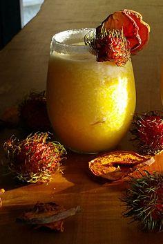 Passionate Peach Margaritas