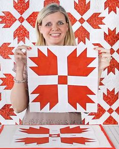 Follow along with this lesson and learn how make this bear paw quilt block!