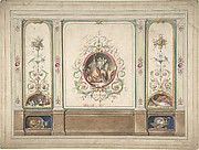 Attributed to J. S. Pearse   Ceiling Design for the Boudoir, Ardgowan   The Met