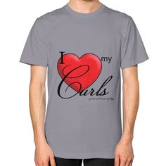 Loving my Curls Unisex T-Shirt