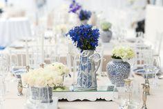 Delft Blue Glenshiel Wedding by Laurentia E. Photography {Elena & Liam} | SouthBound Bride #delft #wedding #capedutch