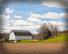 The Barn Beside the Hill
