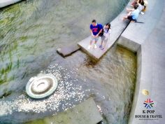 Wishing Well at Cheonggye stream. Isn't that easy, right?