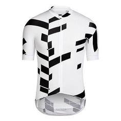 #Rapha pro team aero cycling #jersey #white / black data print medium &…