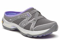 Slip in to the comfort of the ABEO AERO 'Aludra' in Charcoal-Lavender.