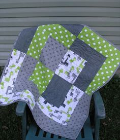 Giant Bento Box Baby Quilt More