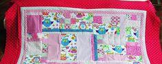 Babydecken - Neu!! Aufwändige Eulendecke--In Bearbeitung! - ein Designerstück von meine-bunte-flickenecke bei DaWanda