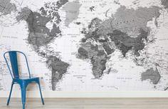 black-white-detailed-maps-room