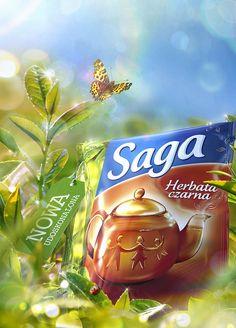 Ad Design, Print Design, Cocoa Tea, Pop Ads, Pop Collection, Ads Creative, Create Image, Photomontage, Photoshop