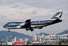 Cathay Pacific Boeing 747-267B