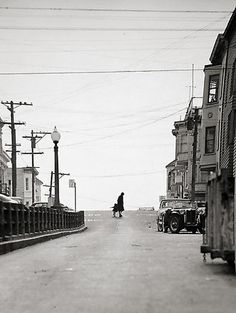 Fred Lyon  Telegraph Hill, Top of Union Street 1950