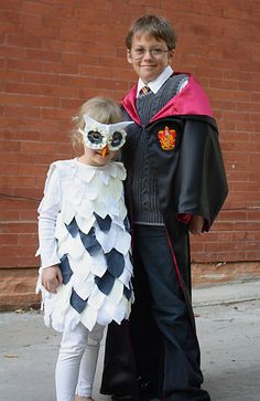 these kids are probably much cooler than your kids..unless your kids did HP and Hedwig even better. Doubt it.
