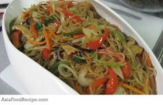 Japchae was another dish that I was responsible for on my sister's birthday.