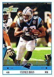 2005 Score #44 Stephen Davis by Score. $0.39. 2005 Pinnacle/Score trading card in near mint/mint condition, authenticated by Seller