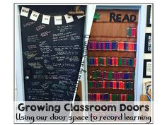 Love this idea for motivating readers with these awesome classroom doors!