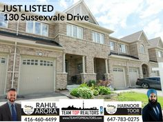 130 Sussexvale Drive, Brampton, ON View Photos, Real Estate, Mansions, House Styles, Home Decor, Decoration Home, Manor Houses, Room Decor, Real Estates