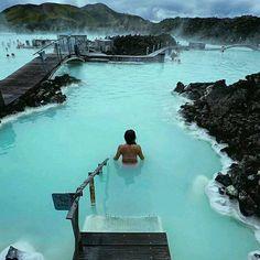 Blue Lagoon Grindavík Islandia.