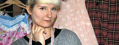 """Designerin Jeanette Schlenzig: """"Seit einem Jahr mache ich nun genau die Kreationen, die mir gefallen."""" Foto: Julia Stadter I TLZ"""