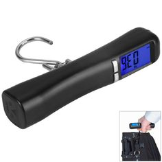 Wholesale LCD Backlit 40Kg Travel Portable Luggage Baggage Suitcase Bag Weight Digital Weighing Hook Scale