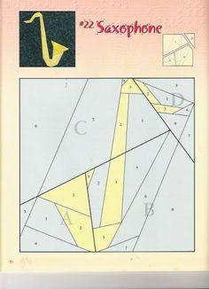 24 Musical Quilt Blocks - Laura alcañiz - Веб-альбомы Picasa