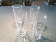 A set of 6 crystal glasses for 9 Euro!
