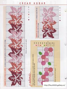 cross stitch leaf border - Gallery.ru / Фото #1 - 2 - Fleur55555