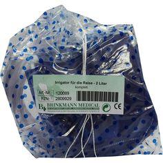 IRRIGATOR für die Reise 2 Liter komplett:   Packungsinhalt: 1 St PZN: 02809929 Hersteller: Brinkmann Medical ein Unternehmen der Dr.…