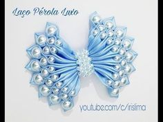 Como fazer laço com três camadas D.I.Y. ,Tutorial , Pap By Iris Lima How To Make a Hair Bow - YouTube
