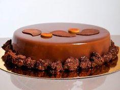 Entremets tout Chocolat Recette permettant de réaliser un Entremets tout Chocolat de 6 personnes Croustillant Praliné 60gr ...