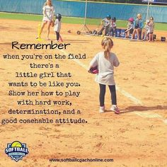 Softball Quote - All For Little Girl Hair Inspirational Softball Quotes, Funny Softball Quotes, Softball Cheers, Softball Pictures, Girls Softball, Softball Stuff, Softball Crafts, Baseball Mom, Softball Bows