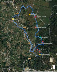 Actualizada la ruta de los petroglifos de Taboexa en As Neves #RíasBaixas