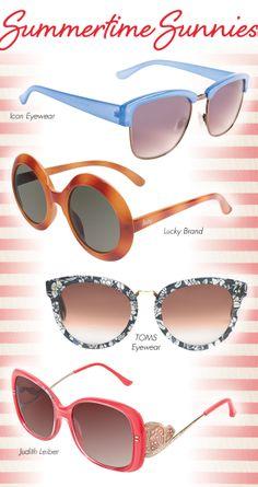 Summertime Sunnies on NY1 Courtesy of Jenn Falik: http://eyecessorizeblog.com/?p=5845