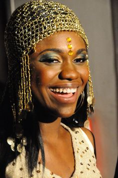 Becca -- African music artist, reppin' Ghana. Beautiful.