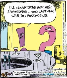 Dating and punctuation