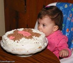 Not sure if the cake-to-kid ratio is right, here...