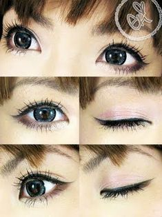 Preview of kawaii eye tutorial, ekiLove Nov customer appreciation gift reveal